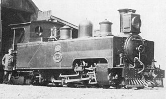 1907 in South Africa - SAR Class NG3