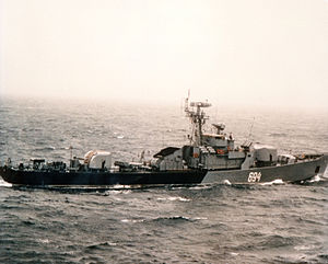 Syrian Navy - Petya class frigate