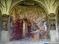 SMN Chiostro Grande o05 Alessandro Fei detto il barbiere, San Domenico resuscita il nipote del Cardinale Orsini.JPG