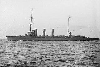 SMS <i>Brummer</i> Brummer-class cruiser