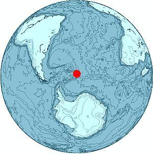 Montagu Island - Image: SSI Location