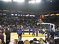 Sacramento Kings shootaround at Oracle Arena, December 2006.jpg