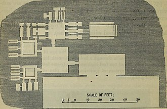 Tombs of the Kings (Jerusalem) - Site plan