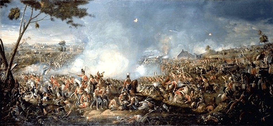Sadler, Battle of Waterloo