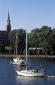 Sailboats on Spa Creek, Annapolis, Maryland LCCN2011634225.tif