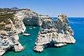 Sailing yachts near the caves at Kleftiko on Milos Island, Greece.jpg
