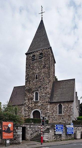 Marcinelle - Image: Saint Martin church in Marcinelle, Charleroi (DSCF7717)
