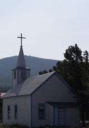 Saint John the Baptist Catholic Church, Carcross, Yukon 5.jpg