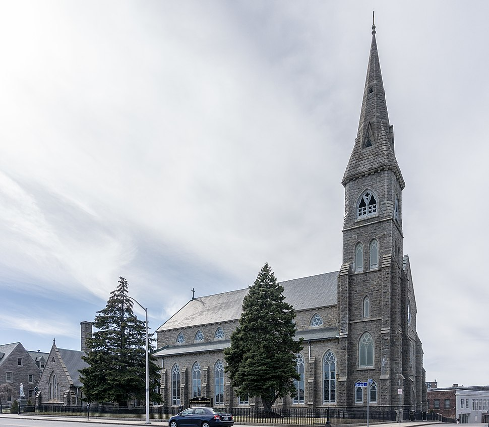 Saint Mary's Cathedral, Fall River, Massachusetts 2017