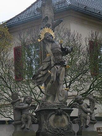 Sebastian (name) - Saint Sebastian in Bamberg
