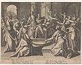 Salomo's afgoderij Over de macht van vrouwen (serietitel), RP-P-1944-1604.jpg