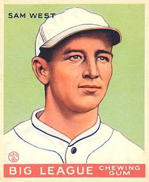 Sam West - Image: Sam West Goudeycard