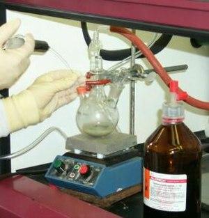 Barbier reaction - Barbier reaction with samarium(II) iodide