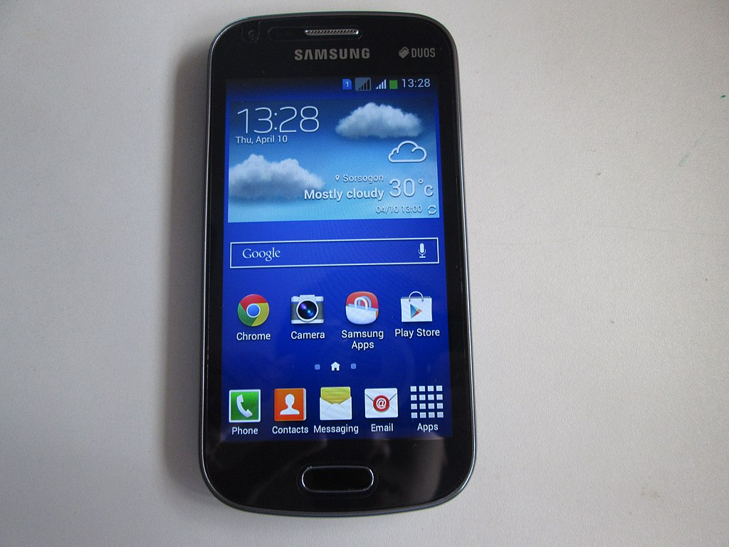 File Samsung Galaxy S Duos 2 Jpg Wikimedia Commons