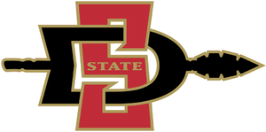 2011 San Diego State Aztecs football team - Image: San Diego State athletics logo 2002