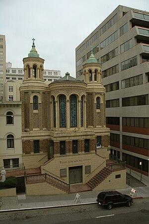 Notre-Dame-des-Victoires, San Francisco - Image: San Francisco Eglise Notre Dame des Victoires