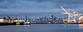 San Francisco Skyline and Port of Oakland (15357926531).jpg
