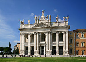 Major basilica - Image: San Giovanni Laterano Rom