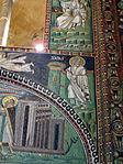 San vitale, ravenna, int., presbiterio, mosaici di dx 05 storie di isaia 01.JPG