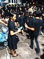 Sandalwood flower offerings for cremation of Bhumibol Adulyadej -CentralPlaza Rama 2 Bangkok 26.10.2017 (29).jpg