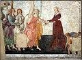 Sandro botticelli, venere e le tre grazie offrono doni a una ragazza, forse giovanna degli albizzi, 1483-1485 ca., da villa lemmi, firenze 01.jpg