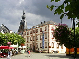 Sankt Wendel - Image: Sankt Wendel Schlossplatz