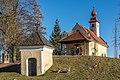 Sankt Veit an der Glan Kalvarienbergstraße Kalvarienbergkapelle Maria Loretto WSW-Ansicht 27122018 5735.jpg