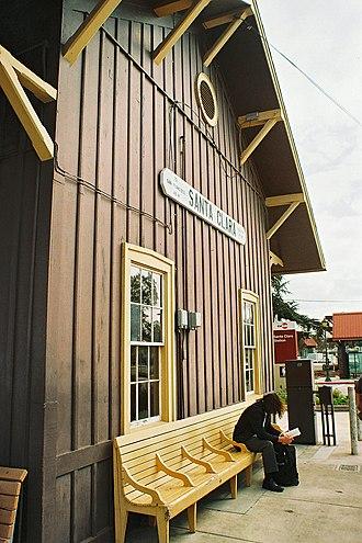 Santa Clara station (California) - Image: Santa Clara Depot