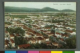 Santos. Vista Geral - Macuco