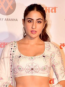 Sara Ali Khan graces Lokmat Most Stylish Awards 2018 (06) (cropped).jpg