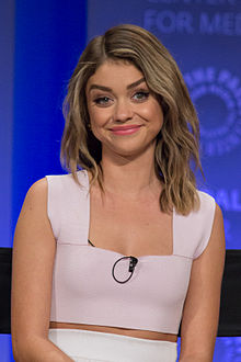 Sarah Hyland - the beautiful, cute, gracious, friendly, fun,  actress  with Irish, Scottish, English, Dutch, Welsh,  roots in 2018