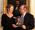 Sarah Worden curator in First Minister's 2012 Christmas message.jpg