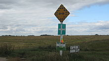 Saskatchewan highway 663 ends.JPG