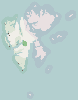 Sassen-Bünsow Land National Park locator map.svg