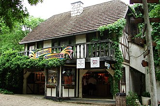 Scarborough Renaissance Festival - 16th century English structure