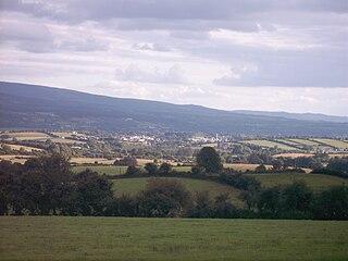 Scarriff Village in Munster, Ireland
