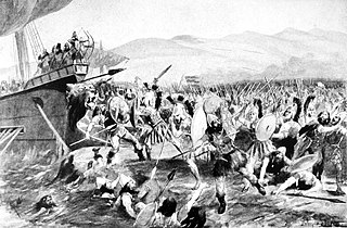 Battle of Marathon 490 BC battle in the Greco-Persian Wars
