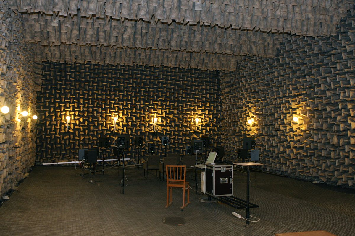 reflexionsarmer raum wikipedia. Black Bedroom Furniture Sets. Home Design Ideas
