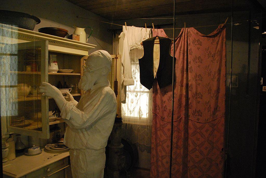 Dans le musée de Cracovie sous la guerre à Podgorze. Photo de Zorro2212.