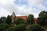 Schobüll (Husum), church on the sea and churchyard.jpg