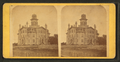 School House, Newton, Iowa, from Robert N. Dennis collection of stereoscopic views.png