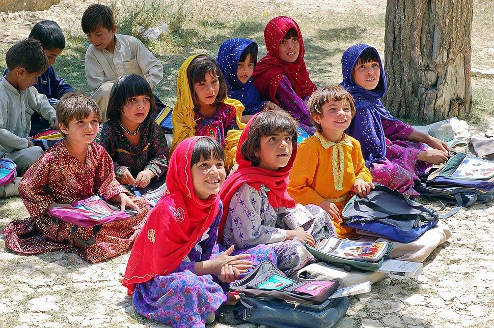 Schoolgirls in Bamozai