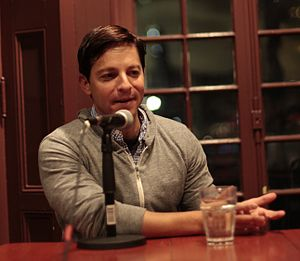 Scott Neustadter - Neustadter at the Kelly Writers House in 2016