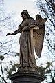 Sculpture Friedensengel Bergfriedhof Linden Linden-Mitte Hannover Germany.jpg