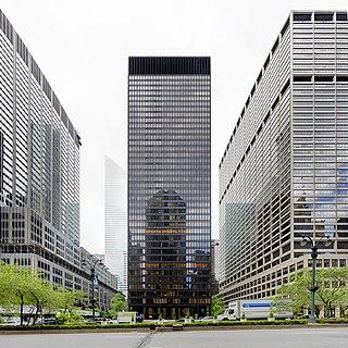 Seagram Building Office skyscraper in Manhattan, New York