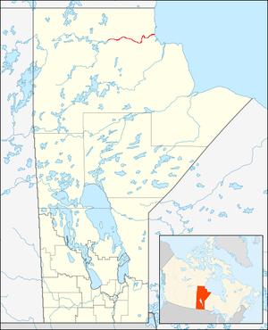 Seal River (Manitoba) - Image: Seal River Manitoba