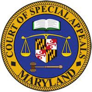 Maryland Court of Special Appeals - Image: Seal of the Court of Special Appeals of Maryland