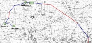 Seaton Burn Wagonway Cable railway near Newcastle upon Tyne, England