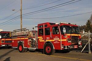 Seattle Fire Department - Seattle Fire Department Engine 25