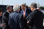 File:Secretary Kerry Speaks With Middle East Negotiators Before Departing Tel Aviv (10740991263).jpg